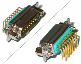 HV PCB Connector - 15 Pin - Male