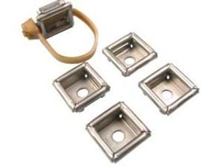 Stainless Steel Cable Mount - Two Way