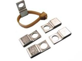 Stainless Steel Cable Mount - Folded