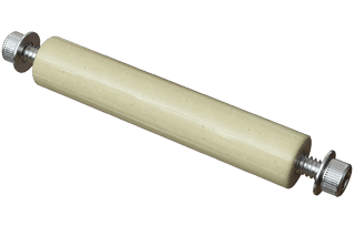 "Vacuum Electrical Ceramic Standoff, 2.00"" Long #6-32"