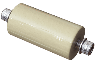 "Vacuum Electrical Ceramic Standoff, 2.00"" long 1/4-20"