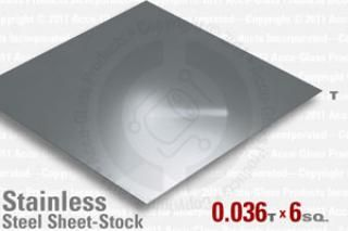 Stainless Steel Sheet, 0.036