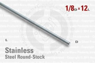 Stainless Steel Rod, 0.125