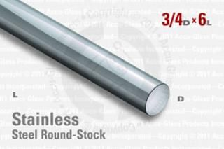 Stainless Steel Rod, 0.750