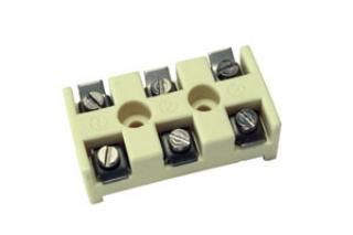 Ceramic Terminal Block, 3 Pole