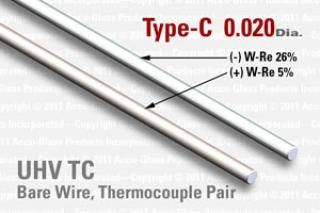 Type-C Thermocouple Pair - 0.020