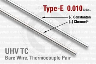 Type-E Thermocouple Pair - 0.010