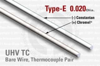 Type-E Thermocouple Pair - 0.020