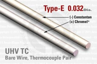 Type-E Thermocouple Pair - 0.032