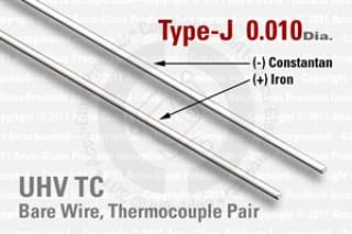Type-J Thermocouple Pair - 0.010