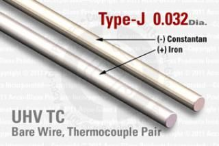 Type-J Thermocouple Pair - 0.032