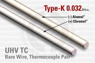 Type-K Thermocouple Pair - 0.032