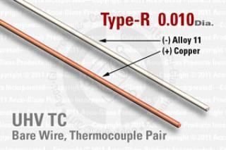 Type-R Thermocouple Pair - 0.010
