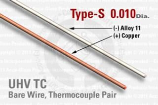 Type-S Thermocouple Pair - 0.010