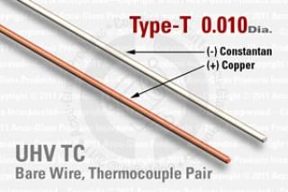 Type-T Thermocouple Pair - 0.010
