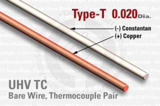 Type-T Thermocouple Pair - 0.020