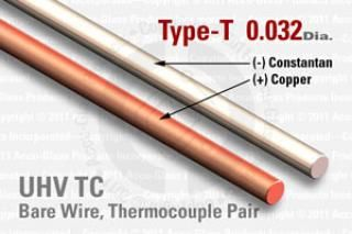 Type-T Thermocouple Pair - 0.032