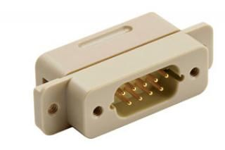 UHV Connector - Panel Mount 9D Connector