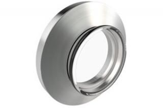 Corning - 7056 Glass Viewport - NW16 KF Flange