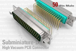 HV PCB Connector - 50 Pin - Male