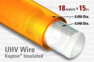 18 AWG - Solid Core Wire.