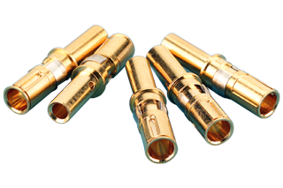 Standard Power Contacts - Female, TYPE: T-3 - 16 AWG