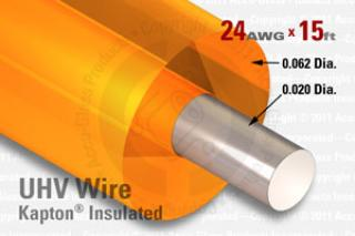 24 AWG - Cryogenic Service Wire - Kapton Insulated