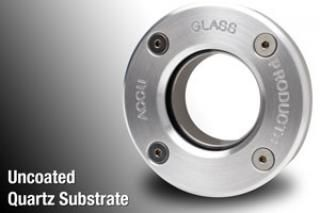 NW40 KF flange, Demountable - AR Coated Quartz Viewport