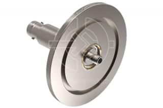 Microdot-BNC, Grounded Shield - NW40 KF Flange