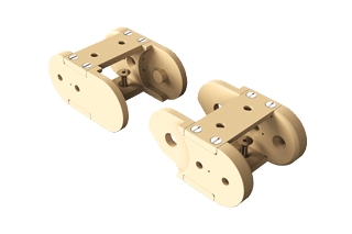 End-Mounts - UHV Cable Chain / Track
