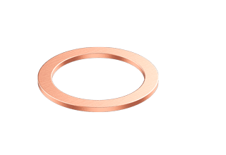 "Copper Gaskets 'Large-Bore' for 2.75"" CF flange"
