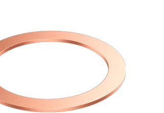 "Copper Gaskets 'Large-Bore' for 4.50"" CF flange"