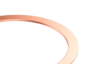 "Copper Gaskets for 6.00"" CF flange"