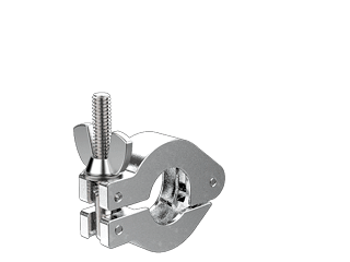 NW16 KF Hinged Clamp