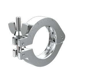 NW40 KF Hinged Clamp
