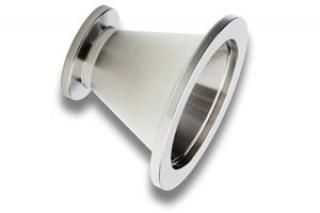 NW40 KF to NW16 KF Flanged Conical Reducer