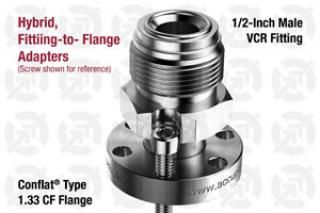 0.50 VCR Male, 1.33 CF Flange Adapter