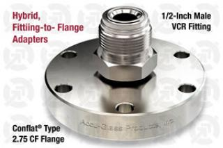 0.50 VCR Male, 2.75 CF Flange Adapter