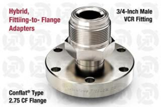 0.75 VCR Male, 2.75 CF Flange Adapter