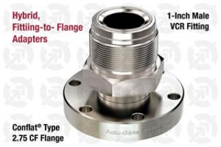 1.00 VCR Male, 2.75 CF Flange Adapter