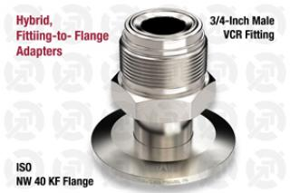 0.75 VCR Male, 40 KF ISO Flange Adapter
