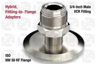0.75 VCR Male, 50 KF ISO Flange Adapter