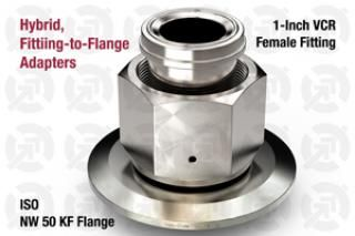 1.00 VCR Female, 50 KF ISO Flange Adapter