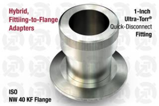 1.00 Ultra-Torr, 40 KF ISO Flange Adapter
