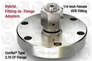 0.25 VCR Female, 2.75 CF Flange Adapter