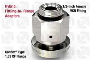0.50 VCR Female, 1.33 CF Flange Adapter