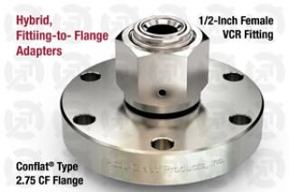 0.50 VCR Female, 2.75 CF Flange Adapter