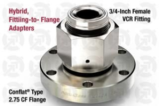 0.75 VCR Female, 2.75 CF Flange Adapter