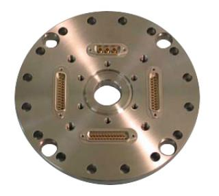 Custom Flange with tapped holes